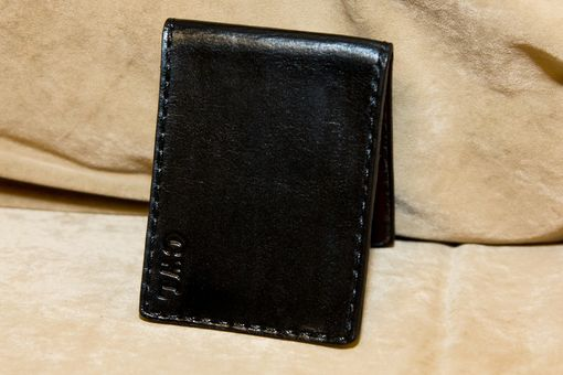 Custom Made Basic Wallet -Black