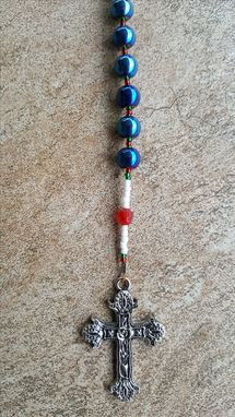 Custom Made Christmas Jewelry  And Christmas Themed Rosary