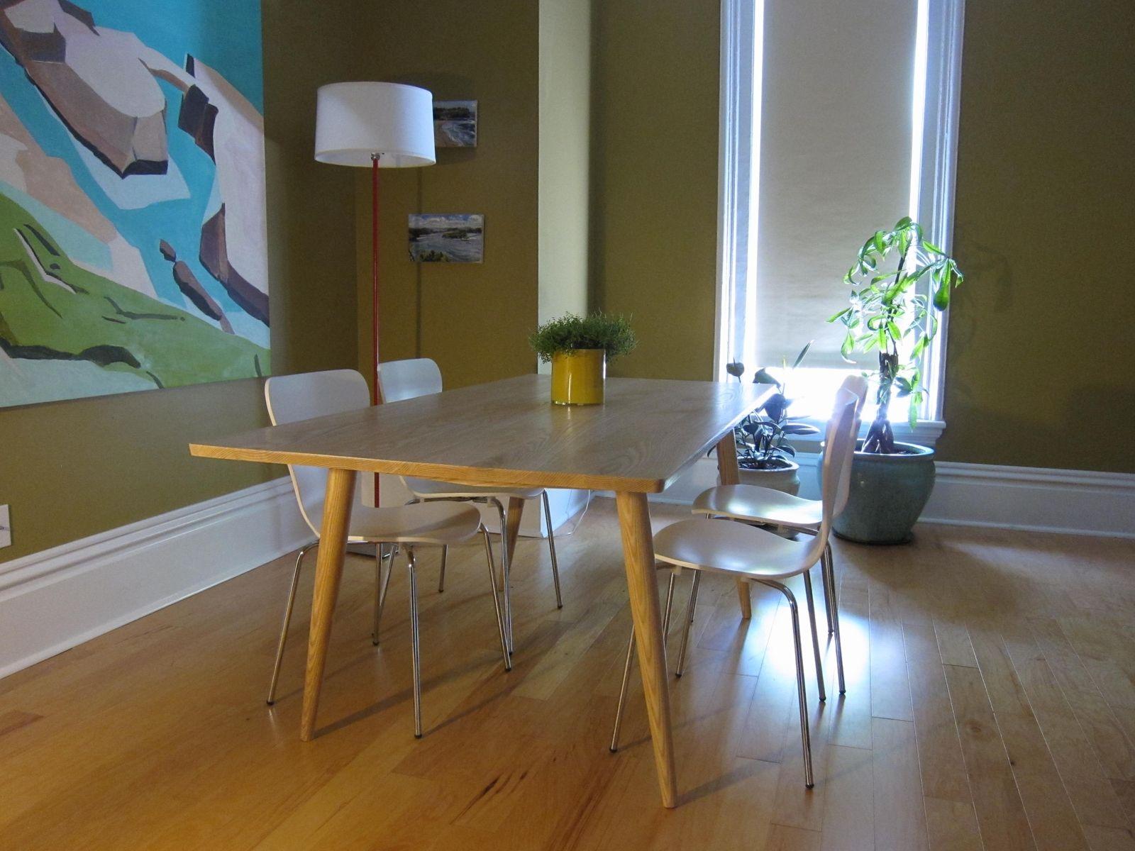 Custom Ash Dining Table By Goodwood Design Custommade Com