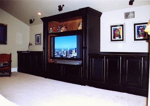 Custom Made Entertainment Cabinetry