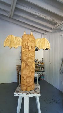 Custom Made Family Totem Pole