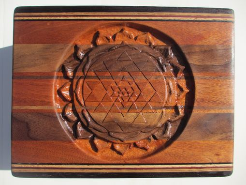 Custom Made Hand Carved Cases, Chests, And Wall Sculptures W/ Custom Design