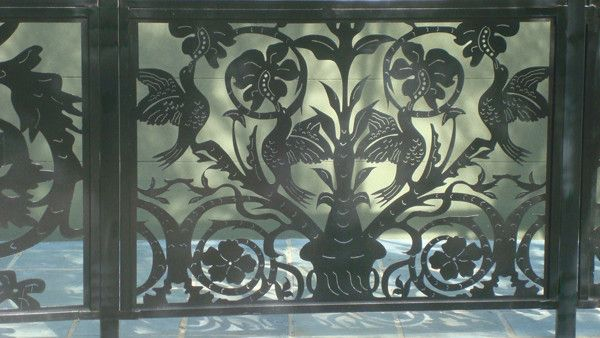 Buy A Custom Made Patio Fence Panel On Sale Decorative