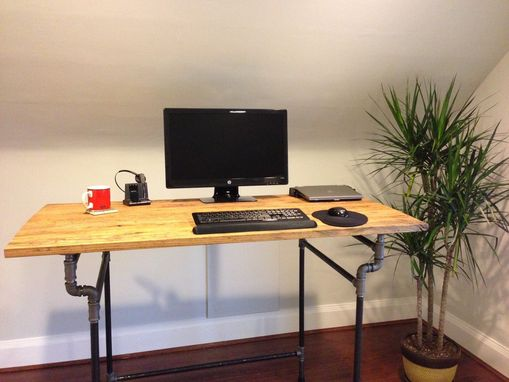 Custom Made Reclaimed Desk Top