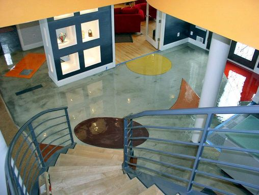 "Custom Made ""Art On The Floor"" - Lake Pewaukee, Wisconsin"