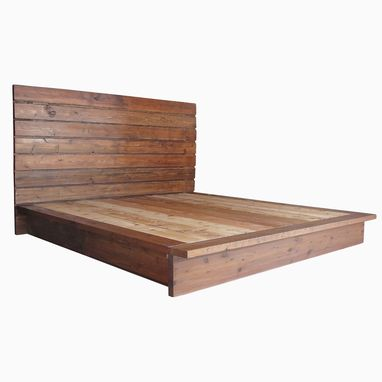 Custom Made Cedar Platform Bed