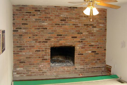 Custom Made Family Room Wall Before And After