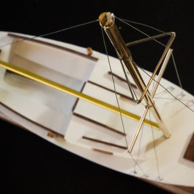 Custom Made Wooden Model Boats