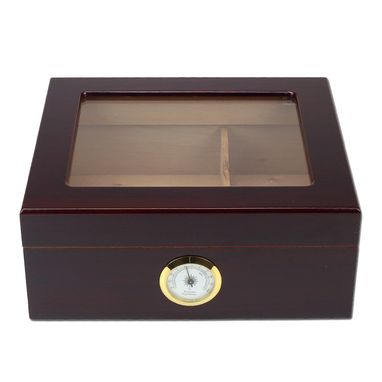 Custom Made Protege Glass Top 25-50 Cigar Humidor