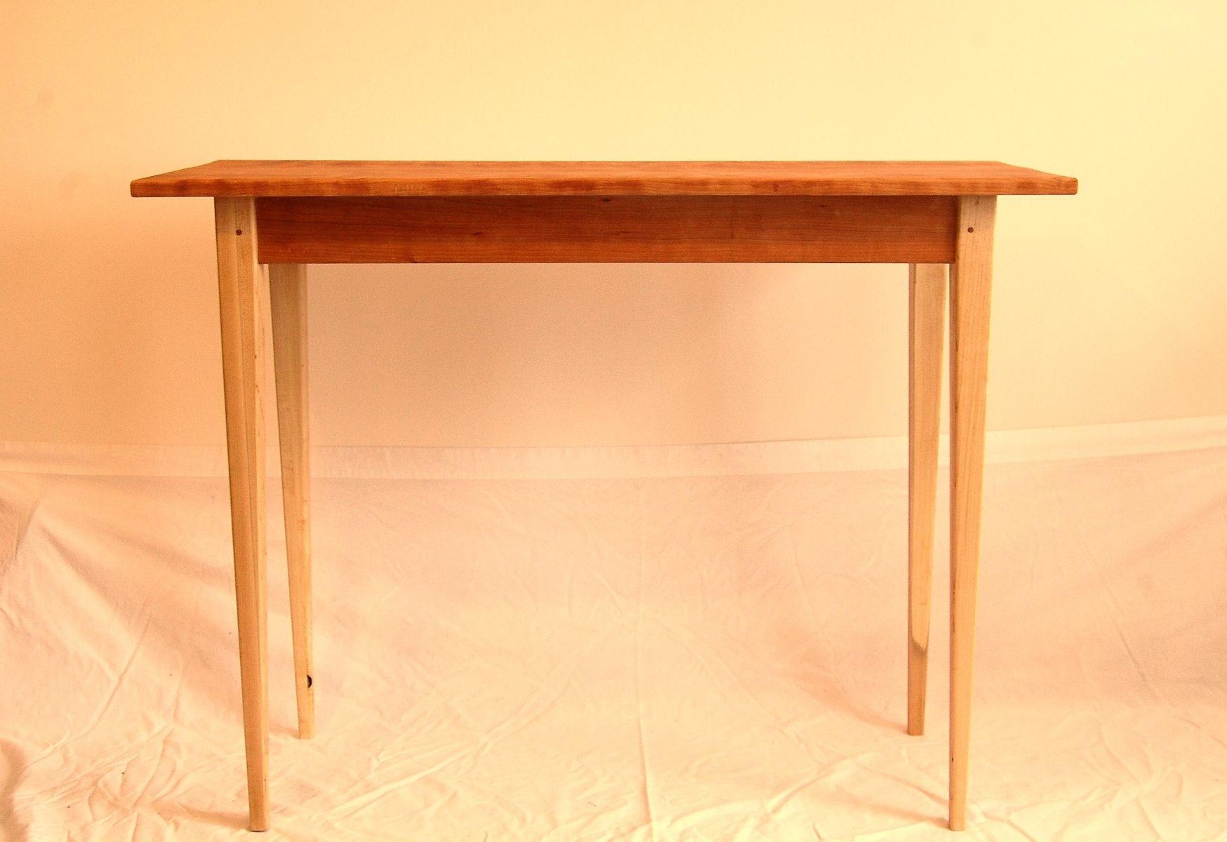 cherry sofa table. Custom Made Hard Maple And Cherry Sofa Table O