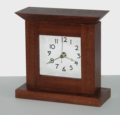 Custom Made Shaker Style Desk Clock