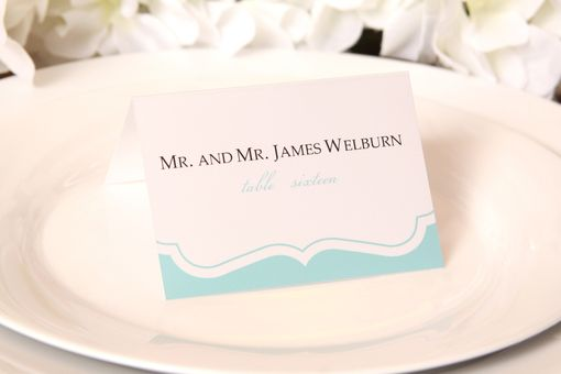 Custom Made Custom Wedding Invitations And Place Cards For Your Event