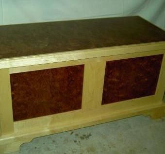 Custom Made Blanket Chest