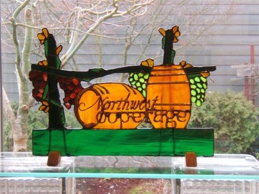 Custom Made Custom Stained Glass Signs