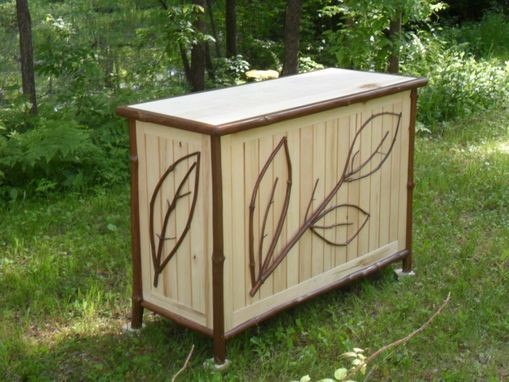 Custom Made Branch & Twig Entertainment Console