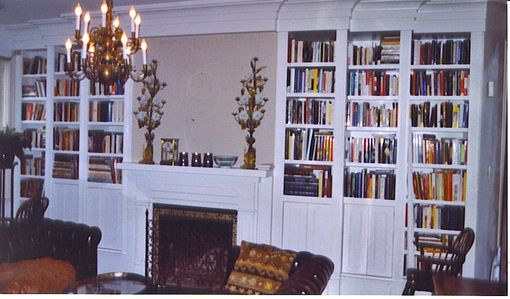 Custom Made Living Room Library