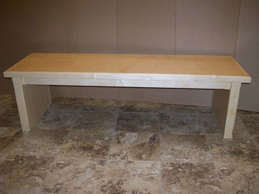 Custom Made Maple Retail Benches