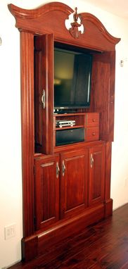 Custom Made Colonial Theater Cabinet