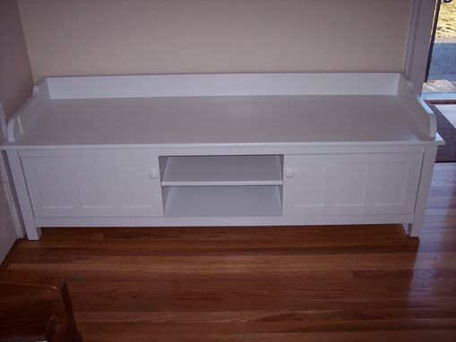 Custom Made Hall Seat Kids Staging & Storage 65