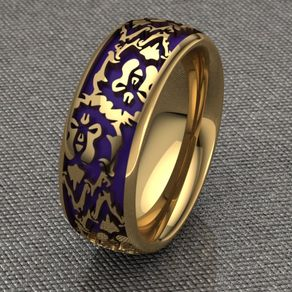 committed to the alliance bands ladies - Lord Of The Rings Wedding Band