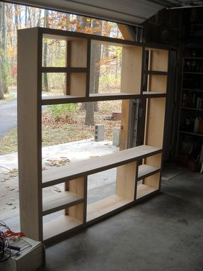 Custom Made Bookcase/Entertainment Center