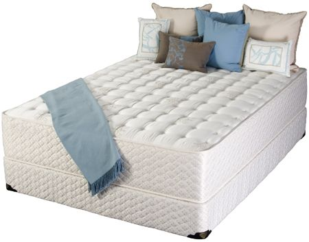 Custom Made Traditional Coil Mattress With Memory Foam And Silk Cover