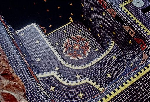 Handmade Custom Tile Hot Tub Spa By Designs In Tile