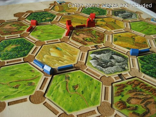 Custom Made Frame Kit For Settlers Of Catan