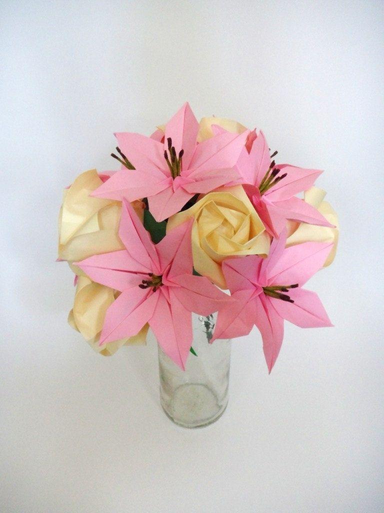 Origami 6 petal lily izmirmasajfo
