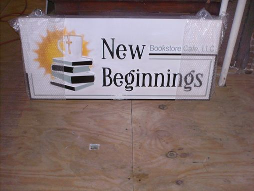 Custom Made Business Sign