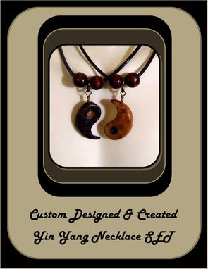 Custom Made His Hers Jewelry,Couples Jewelry,Mens Gifts,Yin Yang Jewelry,Angel Wings Jewelry,Bff Jewelry
