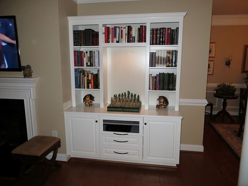 Custom Made Display Shelving Houses Tv Components