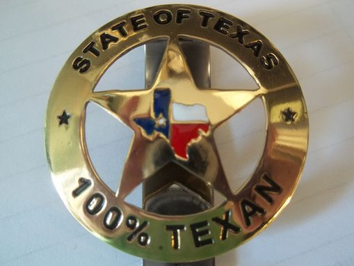 Custom Made State Of Texas Key Rings