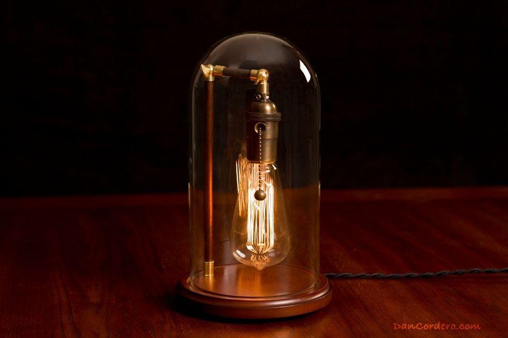Hand Made Edison Lamp By Dan Cordero Custommade Com