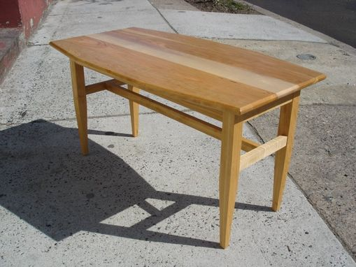 Custom Made Cherry & Maple Coffee Table