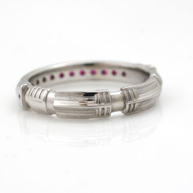 Custom Made 14k Light Saber Ring