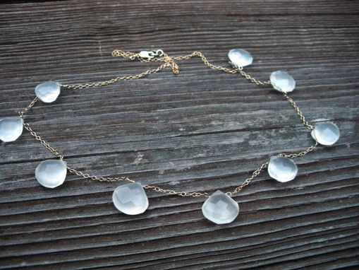 Custom Made Misty Chalcedony Necklace