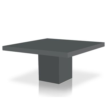 Custom Made Axis Square Table In High Gloss