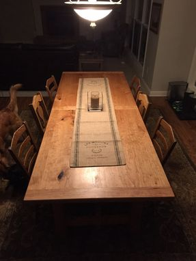 Custom Made The Gauss - Farmstyle Dining Table