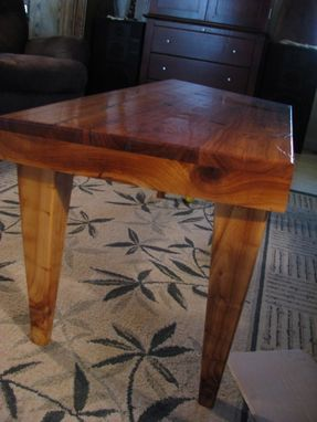 Custom Made Distressted Cherry Coffee Table