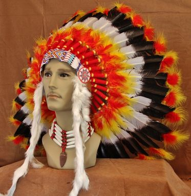 Custom Made Imitation Native American War Bonnet (Inwb108)