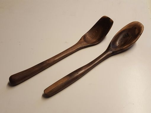 Custom Made Handmade Wooden Kitchen Spoons