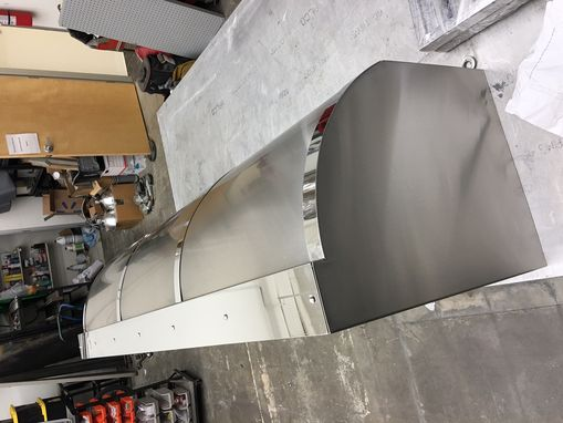 Custom Made #35 Barrel Style Custom Range Hood