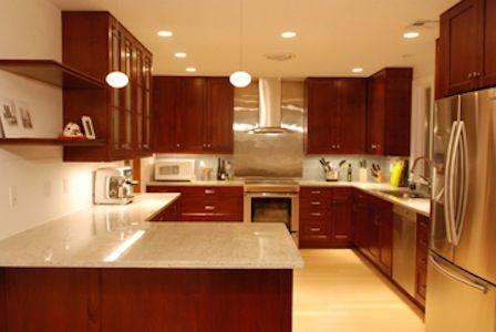 Custom 1950 39 s kitchen remodel by r e higgins steele inc for American remodeling