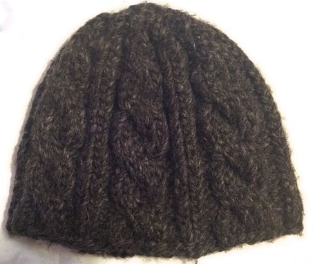 Custom Made Kid's Cable Knit Cap