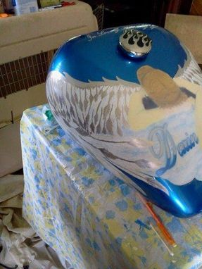 Custom Made Motorcycle Tank