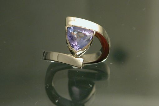 Custom Made 14kt Yellow Gold/Tanzanite Ring