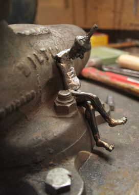 Custom Made Welded Sculpture, Figurative