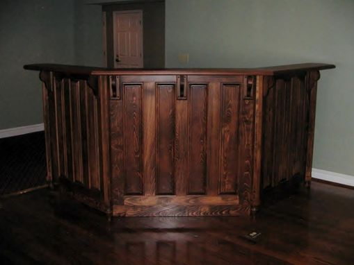 Custom Made Reception/Waitress Desk