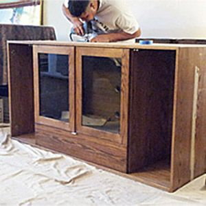 Custom Made Built-Ins - Process
